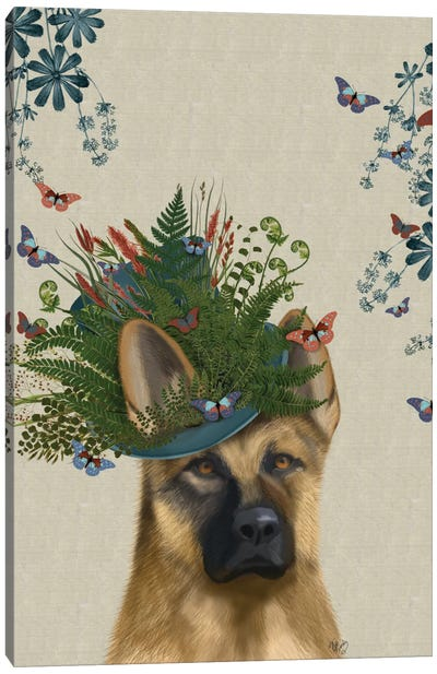 German Shepherd II Canvas Art Print