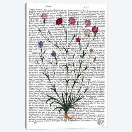 Italian Carnation V Canvas Print #FNK1124} by Fab Funky Art Print