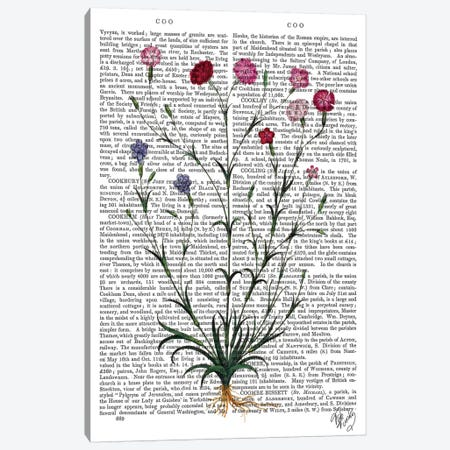 Italian Carnation V Canvas Print #FNK1124} by Fab Funky Art Print