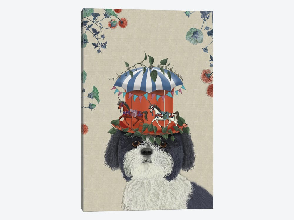 Shih Tzu II by Fab Funky 1-piece Canvas Art