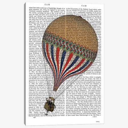 Le Tricolore Canvas Print #FNK1138} by Fab Funky Canvas Art Print