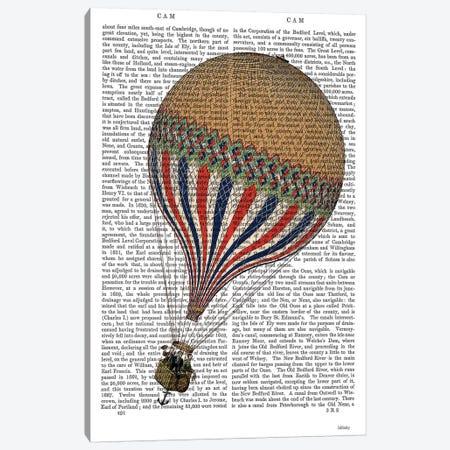 Le Tricolore Canvas Print #FNK1138} by Fab Funky Canvas Art Print