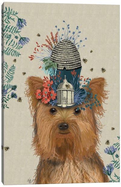 A Milliner's Dog Series: Yorkshire Terrier II Canvas Print #FNK114