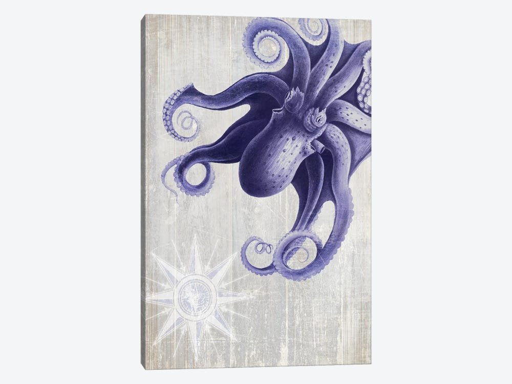 Octopus VII by Fab Funky 1-piece Canvas Print