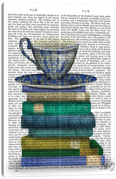 Teacup & Books Canvas Art Print