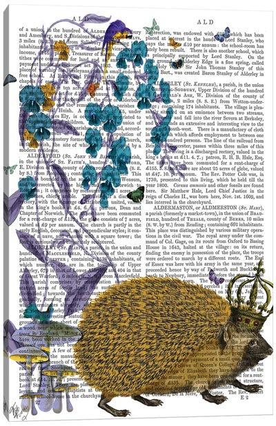 The Golden Hedgehog Canvas Art Print