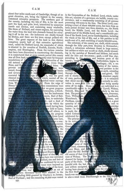 Penguins In Love Canvas Art Print