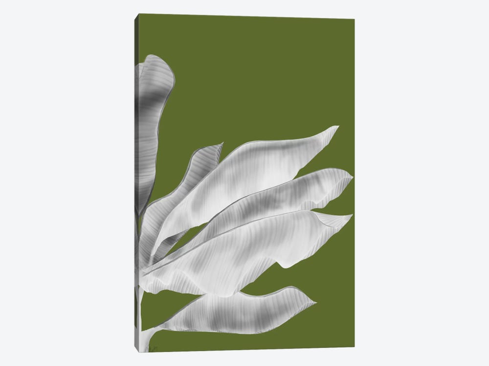 Banana Leaves V by Fab Funky 1-piece Canvas Art Print