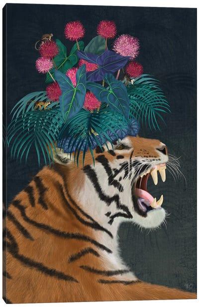 Hot House Tiger I Canvas Art Print