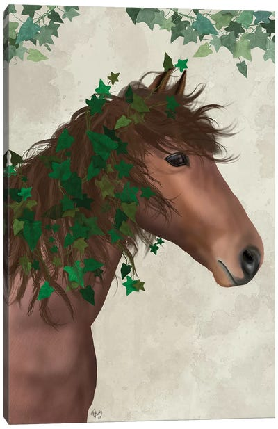 Horse Chestnut with Ivy I Canvas Art Print