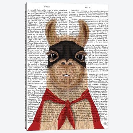 Super Llama Canvas Print #FNK1538} by Fab Funky Art Print