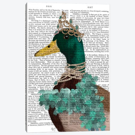 The Right Honourable Lady D II Canvas Print #FNK1540} by Fab Funky Canvas Art