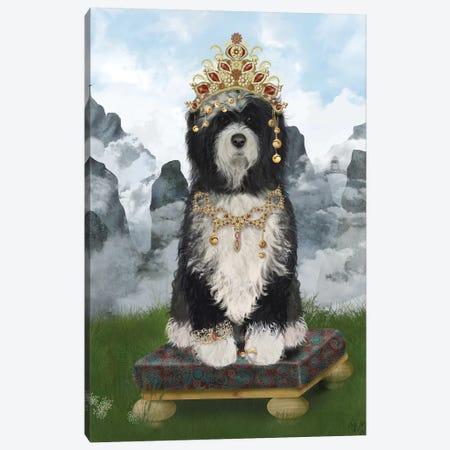 Tibetan Tibetan I Canvas Print #FNK1543} by Fab Funky Canvas Artwork