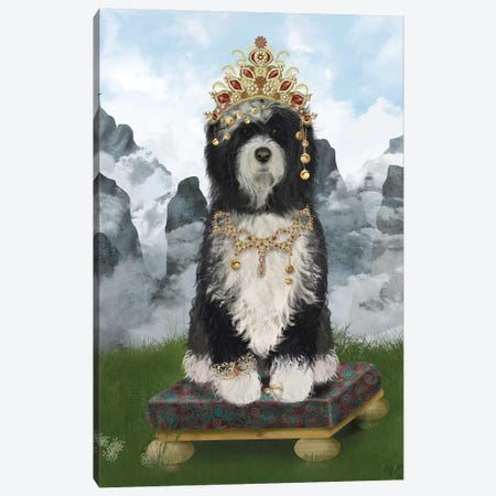 Tibetan Tibetan I Canvas Print #FNK1543} by Fab Funky Canvas Artwork