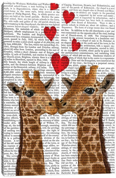 Love is in the Air II Canvas Art Print