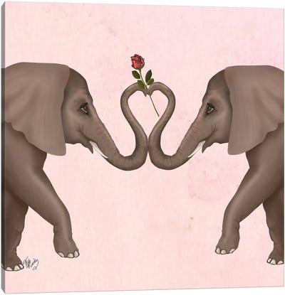 Love is in the Air III Canvas Art Print