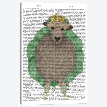 Ballet Sheep 4 Book Print Canvas Print #FNK1576} by Fab Funky Canvas Wall Art