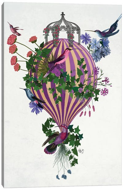 Bird Balloon 1 Canvas Art Print