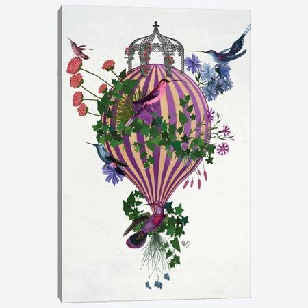 Bird Balloon 1 Canvas Print #FNK1585} by Fab Funky Canvas Print