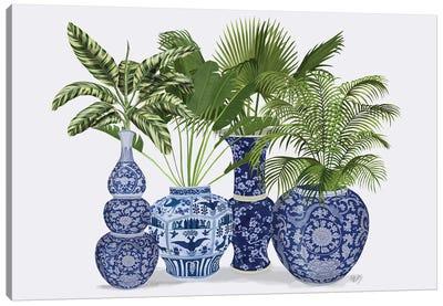 Chinoiserie Vase Group 1 Canvas Art Print