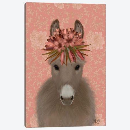 Donkey Bohemian 1 Canvas Print #FNK1655} by Fab Funky Art Print