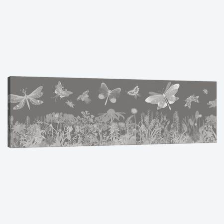 Flutterbies Canvas Print #FNK1700} by Fab Funky Canvas Art