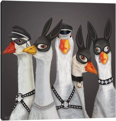 Geese Guys Canvas Art Print