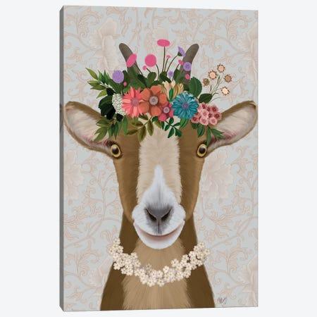 Goat Bohemian 3 Canvas Print #FNK1731} by Fab Funky Art Print