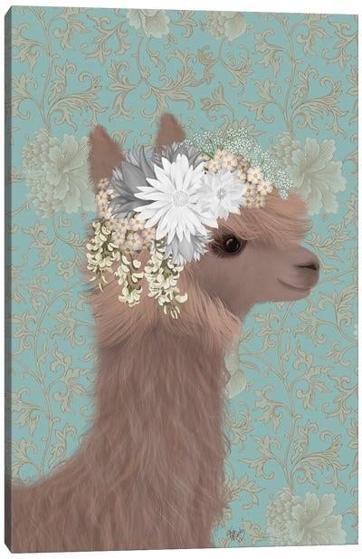 Llama Bohemian 3 Canvas Art Print