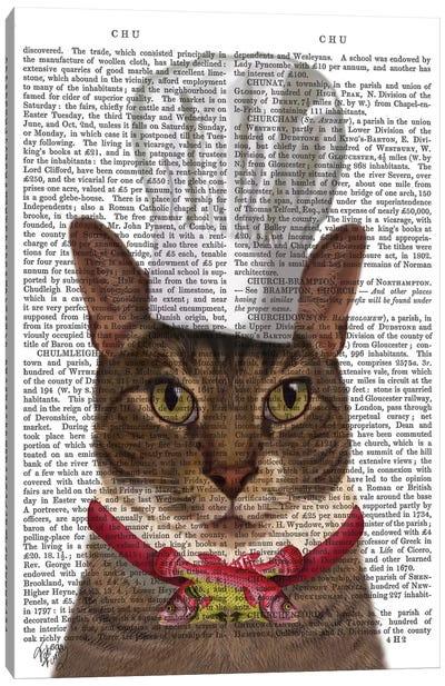 Cat Chef I Canvas Art Print