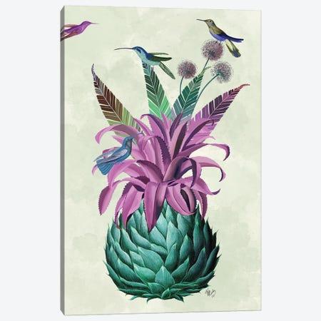 Tropical Artichoke Canvas Print #FNK1910} by Fab Funky Canvas Art Print