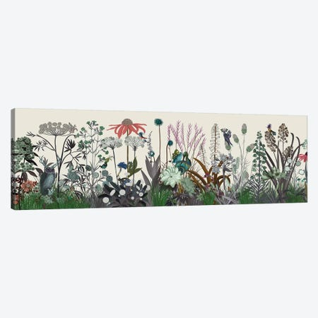 Wildflower Bloom Canvas Print #FNK1916} by Fab Funky Canvas Wall Art