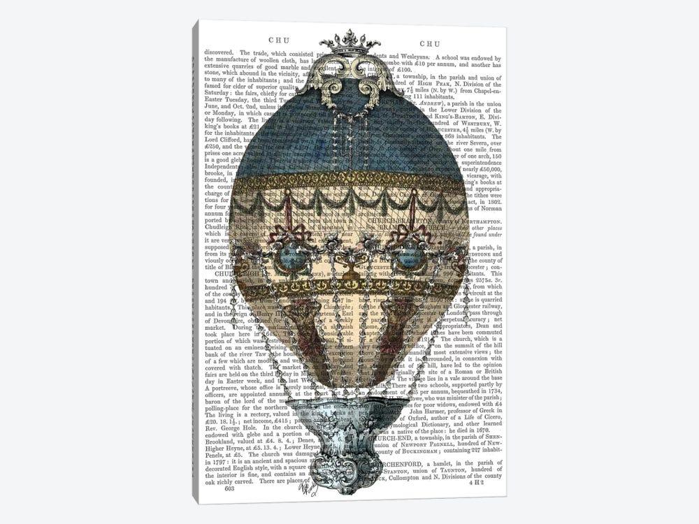 Baroque Fantasy Balloon I by Fab Funky 1-piece Canvas Artwork