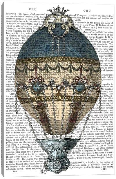 Baroque Fantasy Balloon I Canvas Print #FNK1