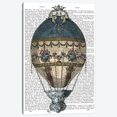 Baroque Fantasy Balloon I 3-Piece Canvas #FNK1} by Fab Funky Canvas Wall Art