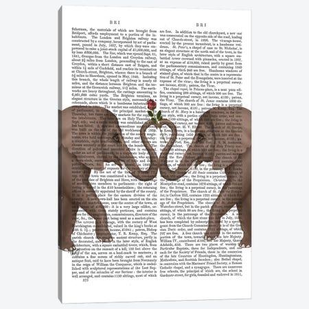 Elephant Heart I  Canvas Print #FNK237} by Fab Funky Canvas Art