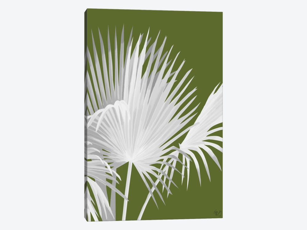 Fan Palm IV by Fab Funky 1-piece Canvas Artwork