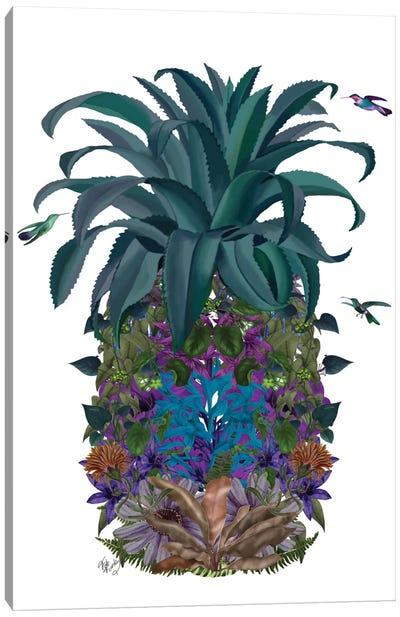 Floral Pineapple II Canvas Print #FNK251
