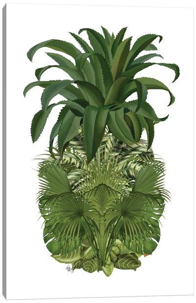 Floral Pineapple IV Canvas Print #FNK253