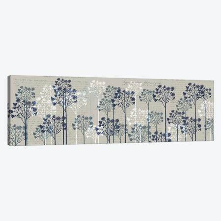 Floral Trees I Canvas Print #FNK254} by Fab Funky Canvas Art