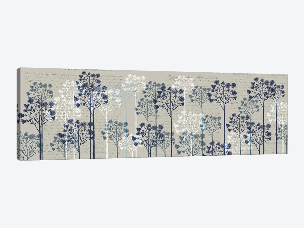 Floral Trees I by Fab Funky 1-piece Canvas Wall Art