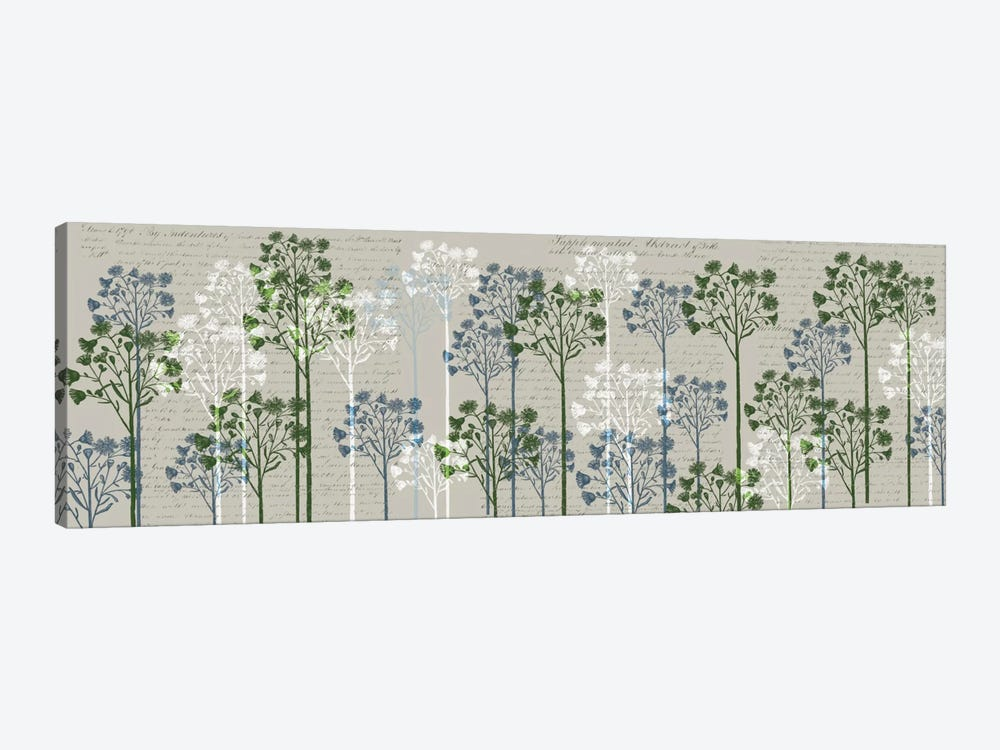Floral Trees II by Fab Funky 1-piece Canvas Print