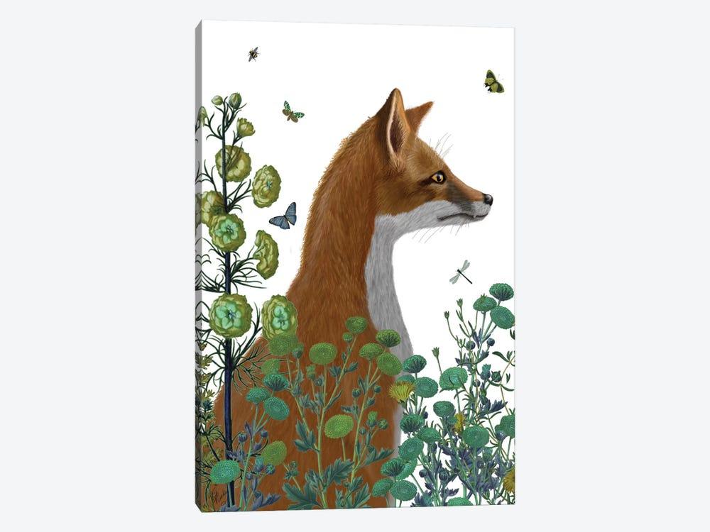 Fox In The Garden II by Fab Funky 1-piece Art Print