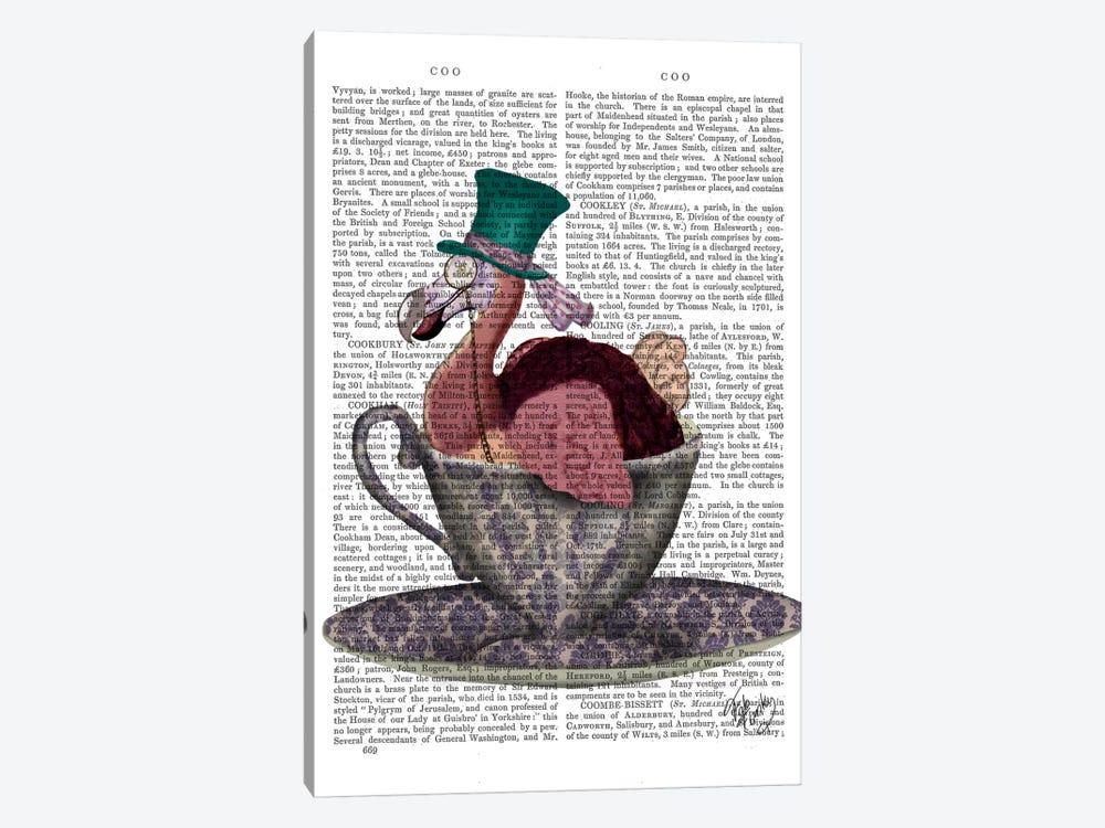 Dodo In Teacup by Fab Funky 1-piece Art Print