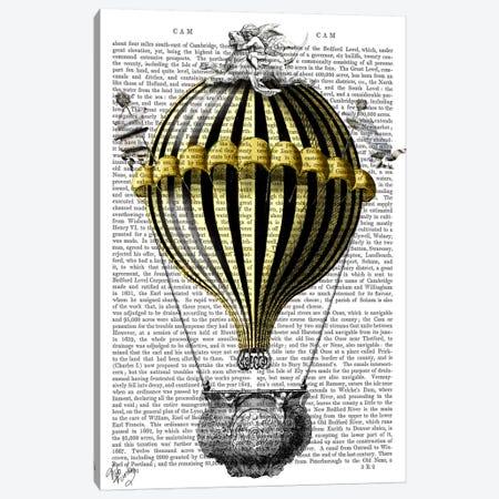 Baroque Fantasy Balloon II Canvas Print #FNK2} by Fab Funky Canvas Artwork
