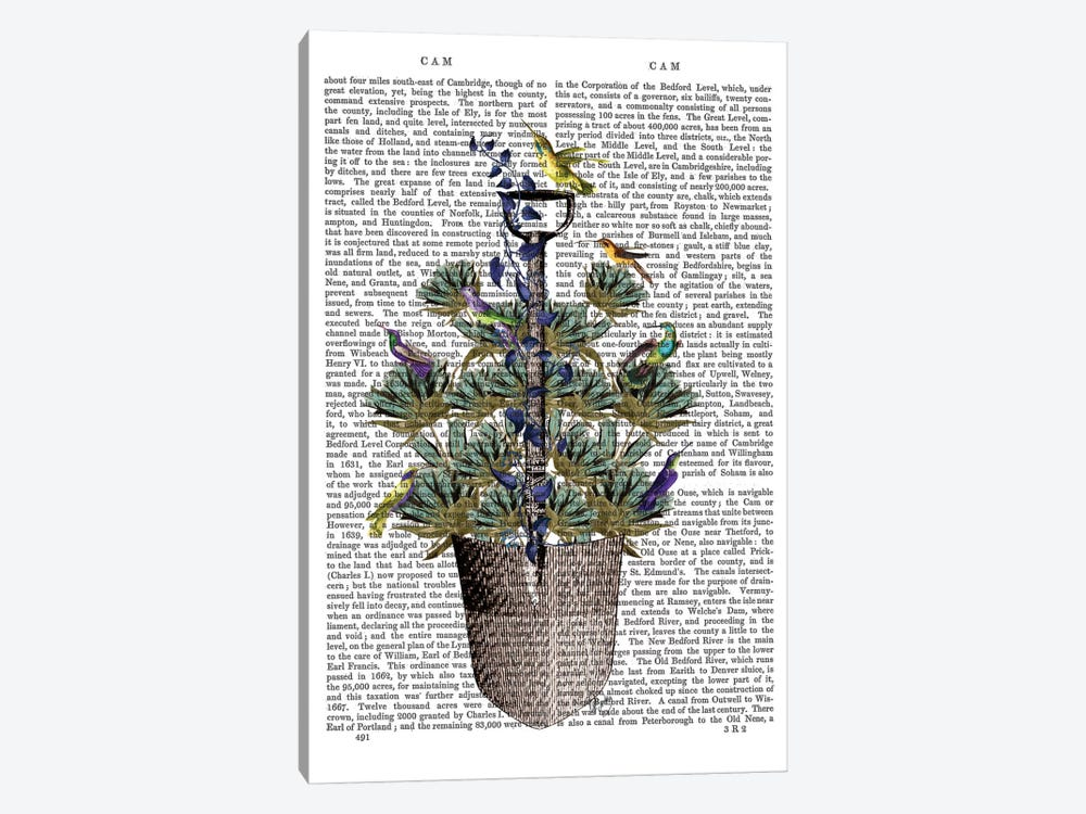 Garden Spade And Birds I 1-piece Art Print