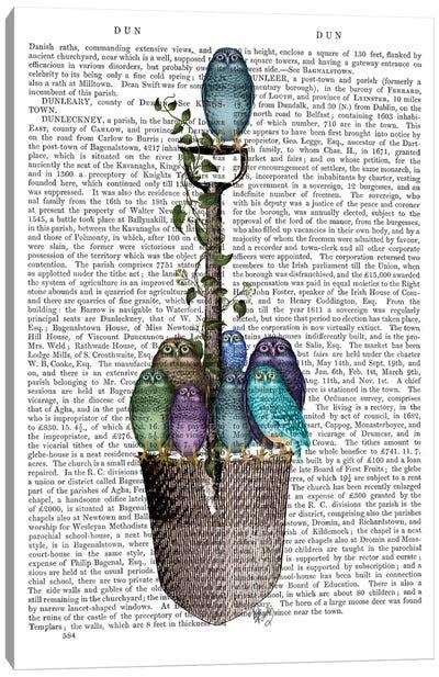 Garden Spade And Owls I Canvas Print #FNK319