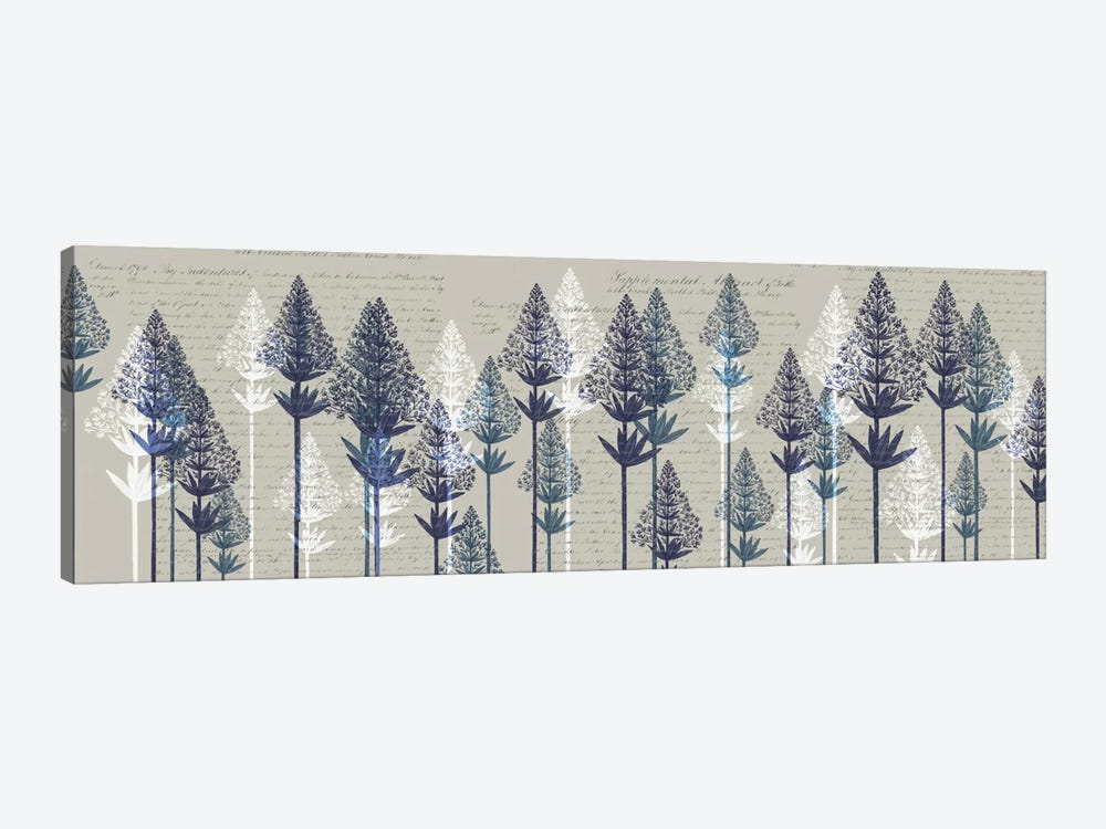 Leafy Pines I by Fab Funky 1-piece Canvas Art Print