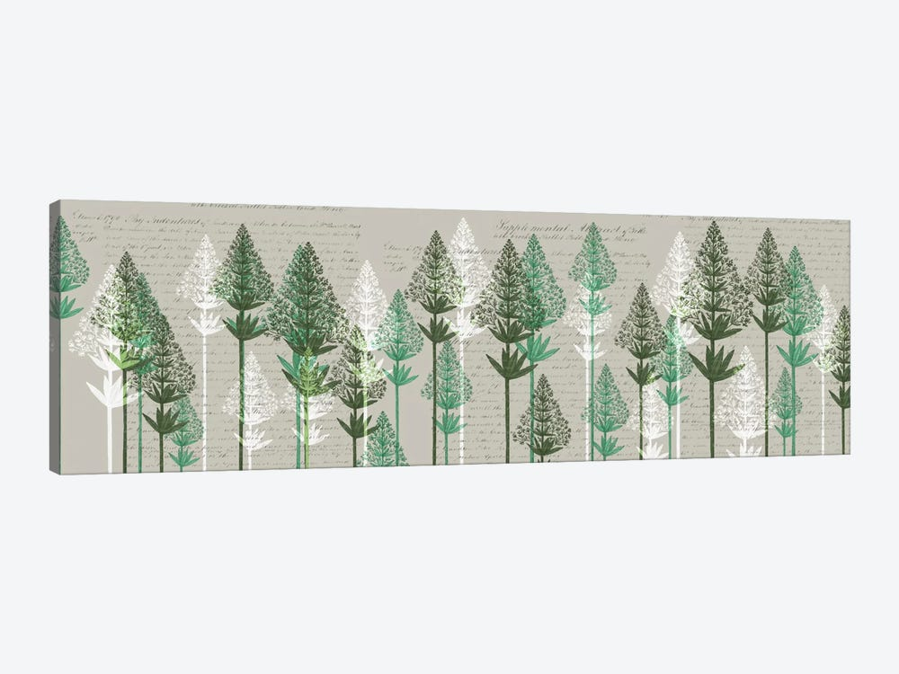 Leafy Pines III by Fab Funky 1-piece Canvas Art Print
