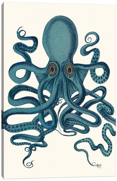 Octopus 9 III Canvas Art Print